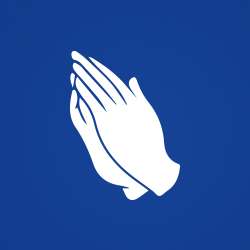 Prayer hands icon